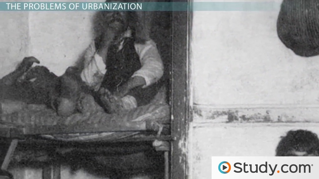 urbanization during the second industrial revolution in