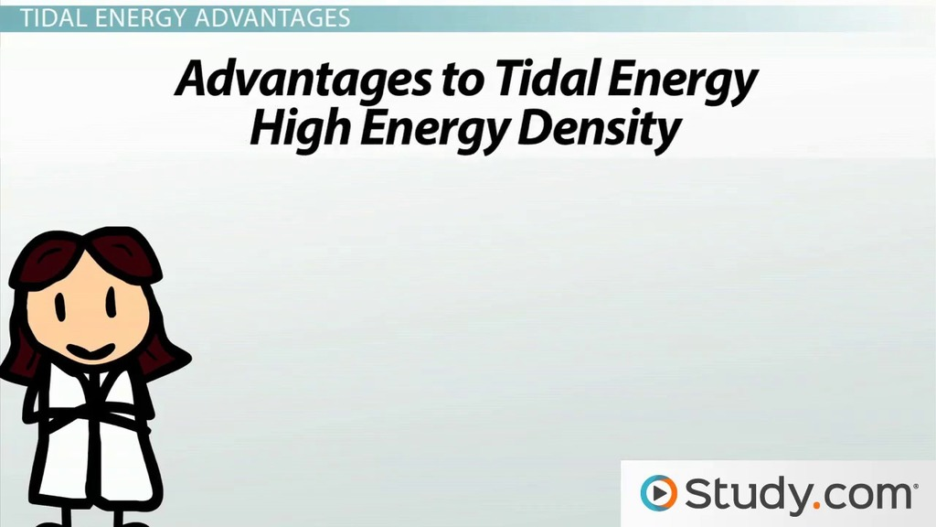 Tidal energy advantages and disadvantages video lesson tidal energy advantages and disadvantages video lesson transcript study fandeluxe Image collections