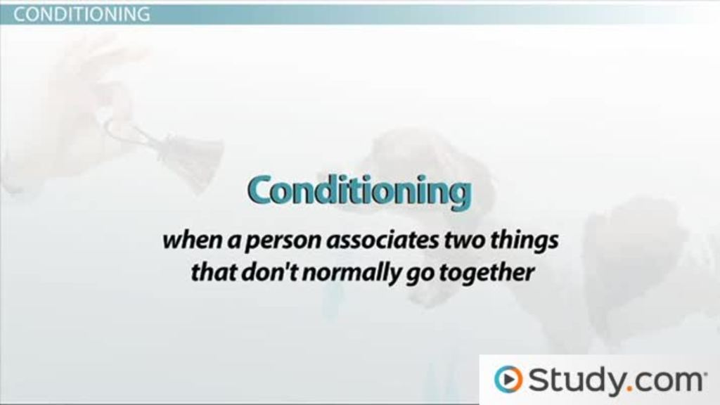 Common Behavioral Treatments Classical Conditioning And