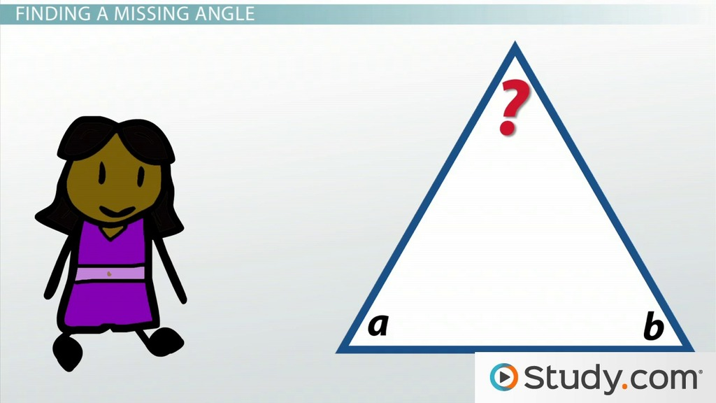 Printable Worksheets triangle sum theorem worksheets : Measuring the Angles of Triangles: 180 Degrees - Video & Lesson ...