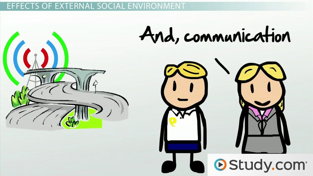 how the social environment affects business examples impact video lesson transcript studycom
