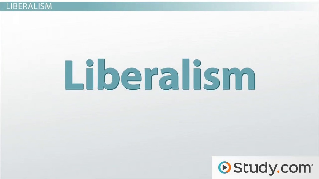 What is a (modern) liberal's definition of freedom?