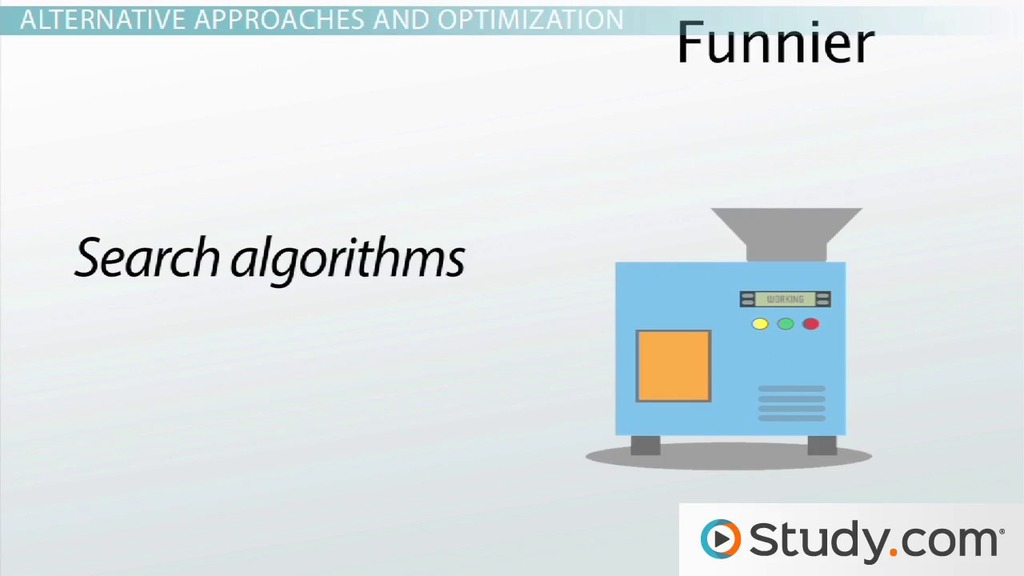 What Is A Computer Algorithm Design Examples Optimization Video Lesson Transcript Study Com