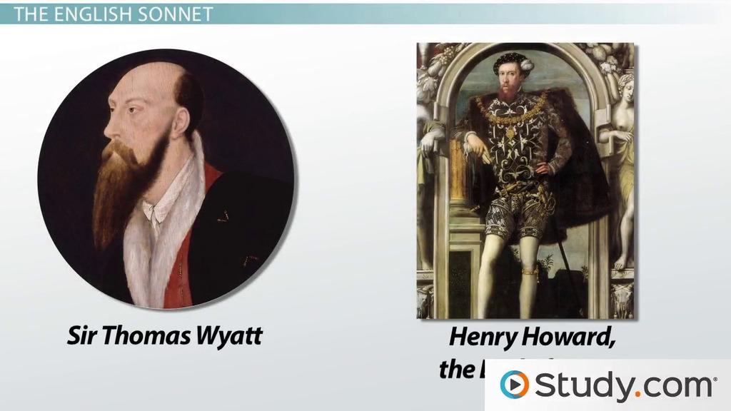 wyatt and surrey sonnets