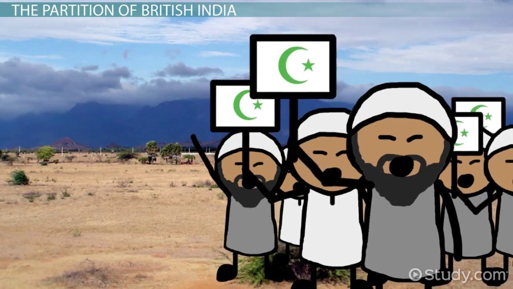 India's Independence & Division into Two States - Video & Lesson ...