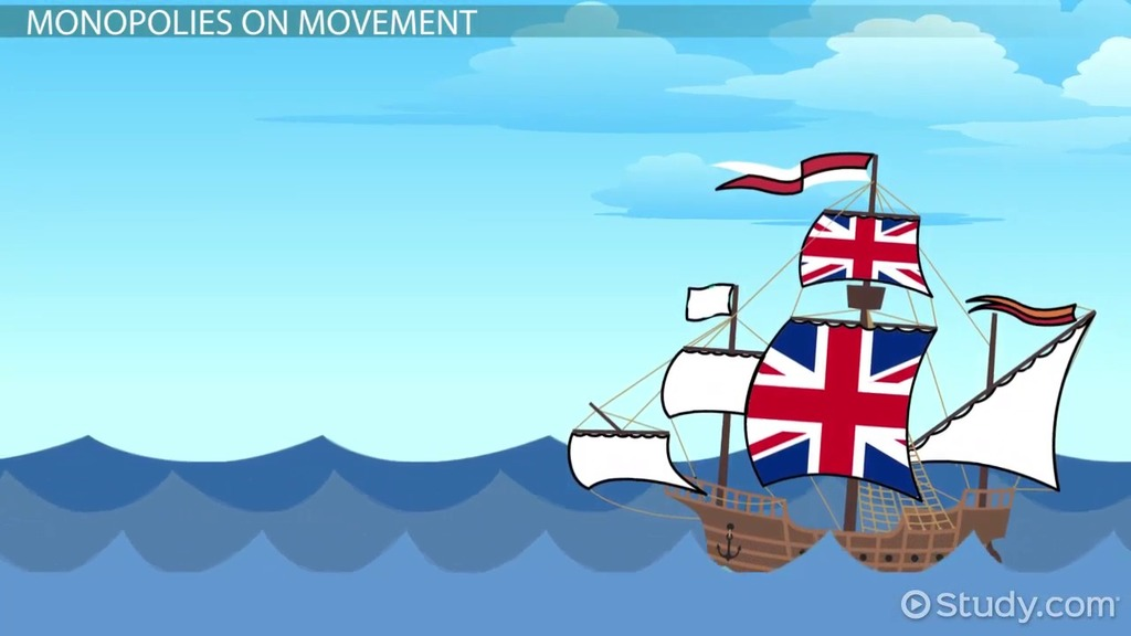 The Columbian Exchange Global Trade Mercantilism Video Lesson