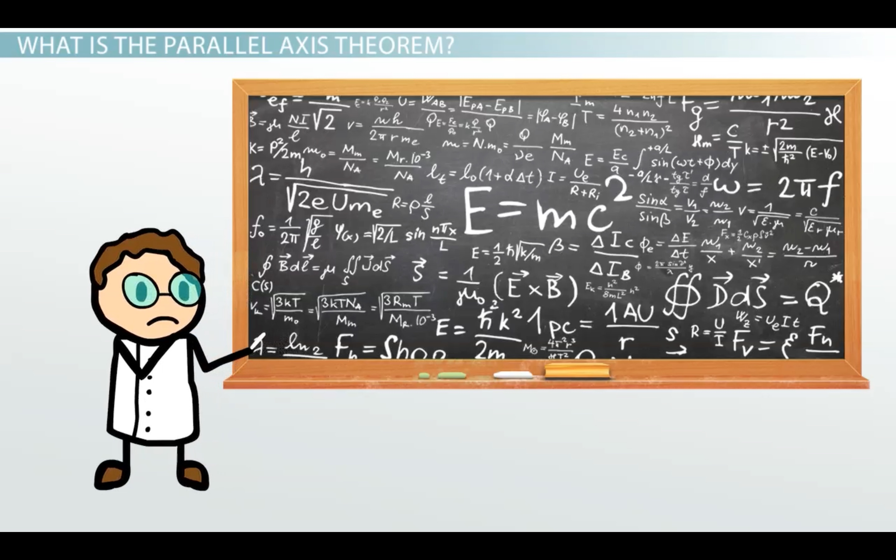 moment of inertia parallel axis theorem example