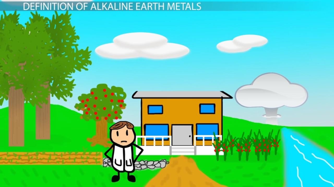 alkaline earths group 2a elements definition properties video lesson transcript studycom