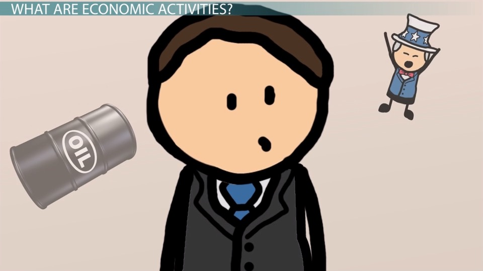 Write a short essay on organisation of economic activities?