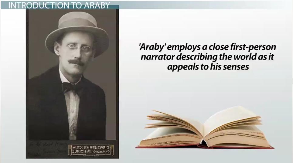 james joyce symbolism in story araby