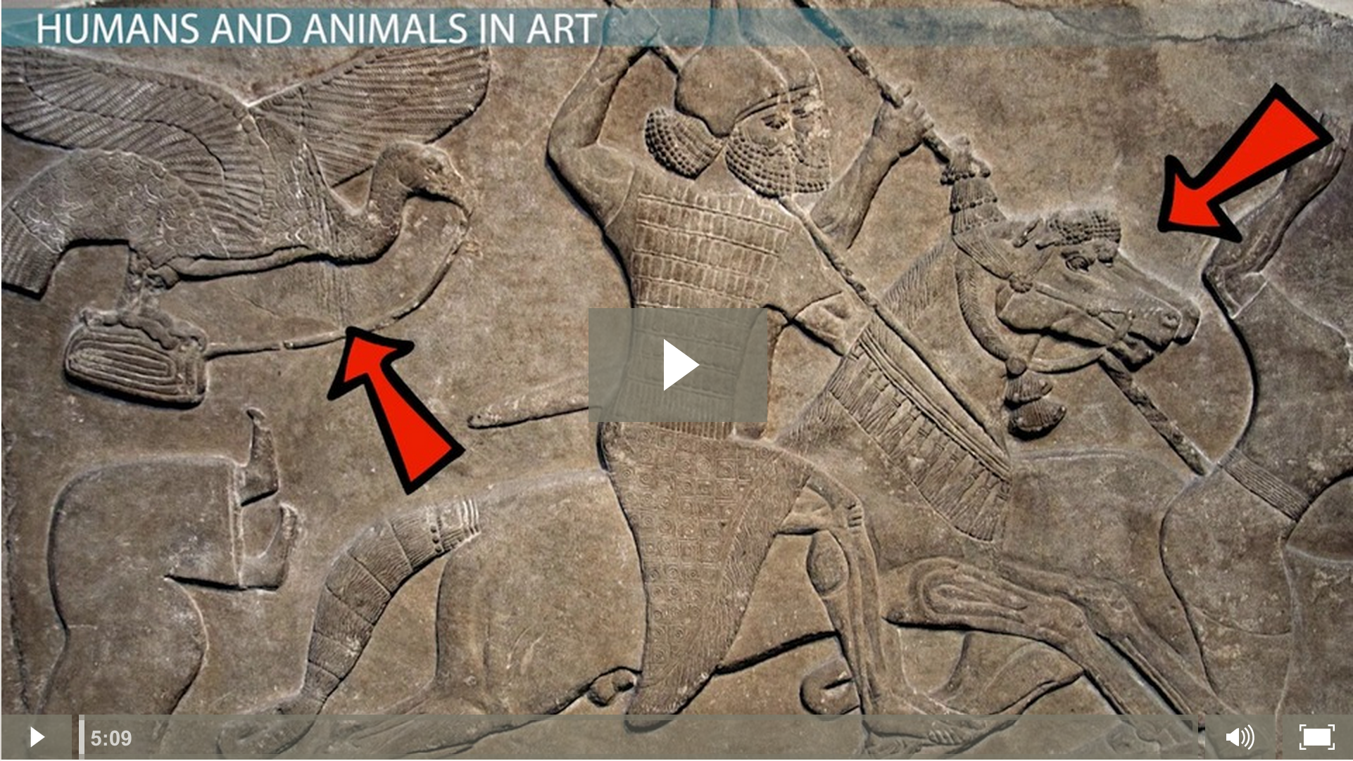 Ancient Mesopotamian Art And Architecture use of naturalism & stylization in mesopotamian art - video