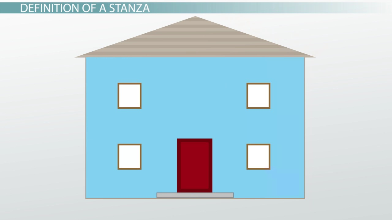 What Is A Stanza In Poetry Definition Examples Video Lesson