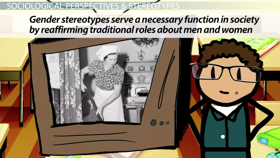thesis statement on gender stereotypes Many people don't know the difference between gender and sex gender roles and expectations april 10, 2010 by monkee21, labelle, fl more by this author.