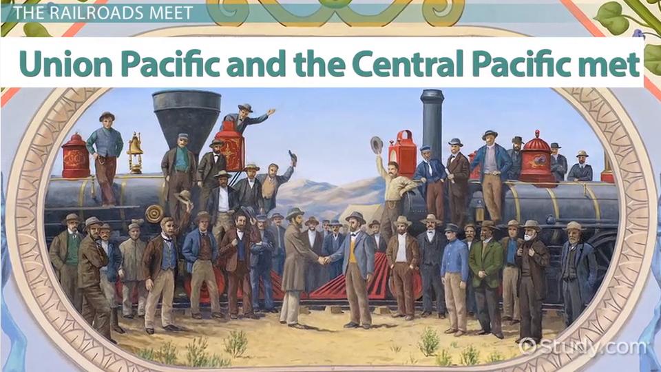 the american transcontinental railroad essay