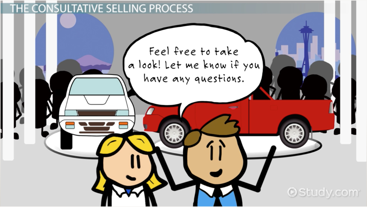 Consultative Sales Definition Process Techniques Video Lesson Transcript Study Com