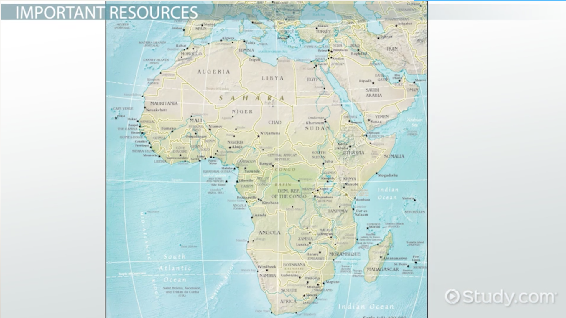 The economies of africa the middle east video lesson impact of resources on the movement of products capital people in africa the sciox Image collections