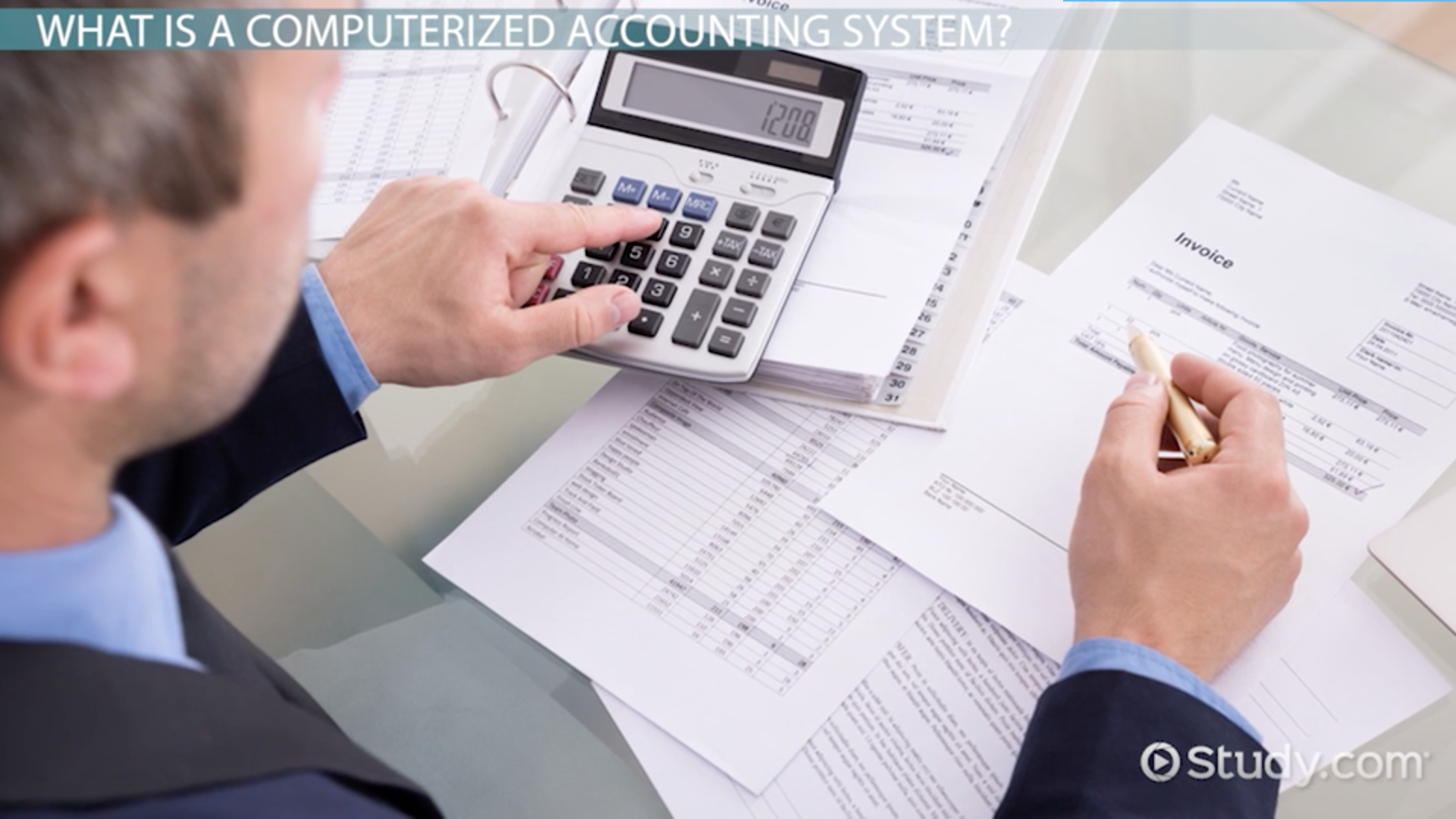 Sequential stages of an accounting information system