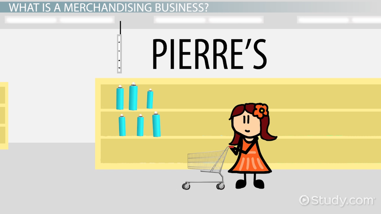 Merchandising Business: Definition & Examples - Video & Lesson ...