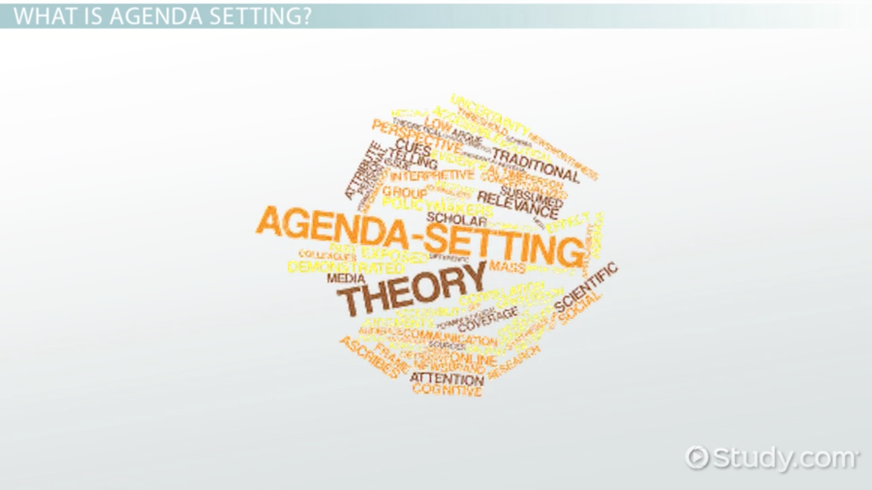 agenda setting  definition  function  process  u0026 examples