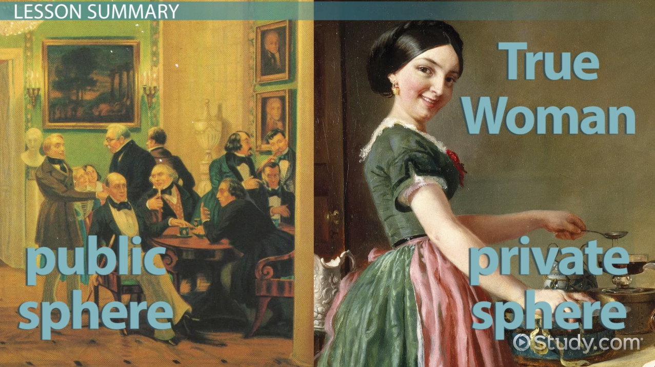 the role of women in the 19th century