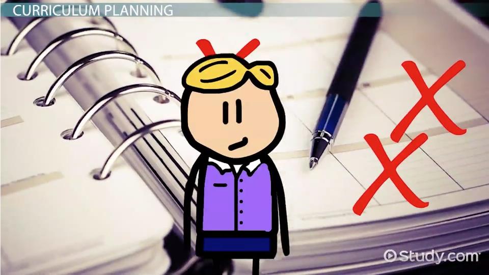 the curriculum plan essay