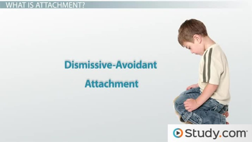 Dismissive-Avoidant Attachment: Disorder & Treatment - Video