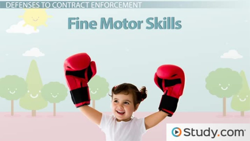 What Are Fine Motor Skills in Children? - Development, Definition & Examples - Video & Lesson Transcript | Study.com