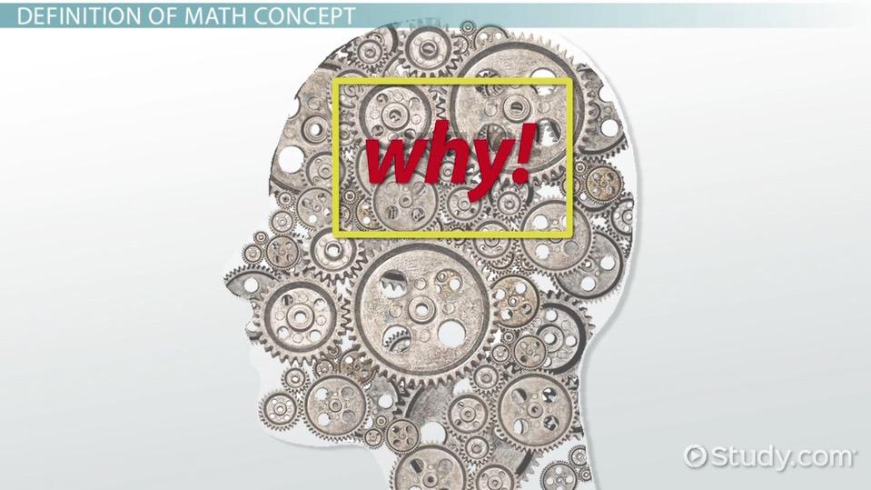 What is a Math Concept? - Video & Lesson Transcript   Study.com