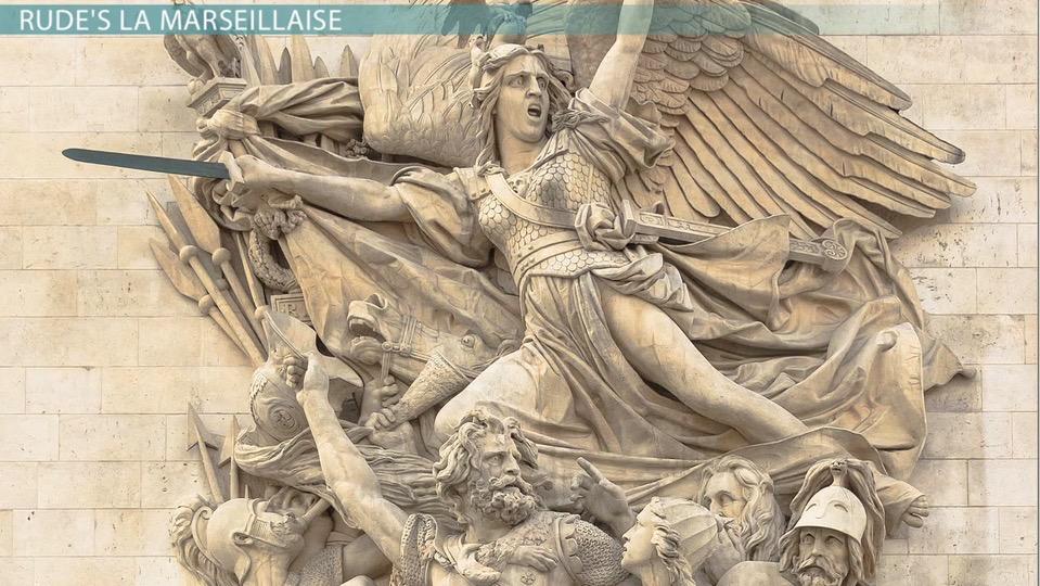 Rude's La Marseillaise Vs. Delacroix's Liberty Leading the ...