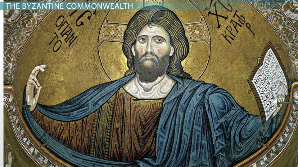 the byzantine commonwealth  famous works