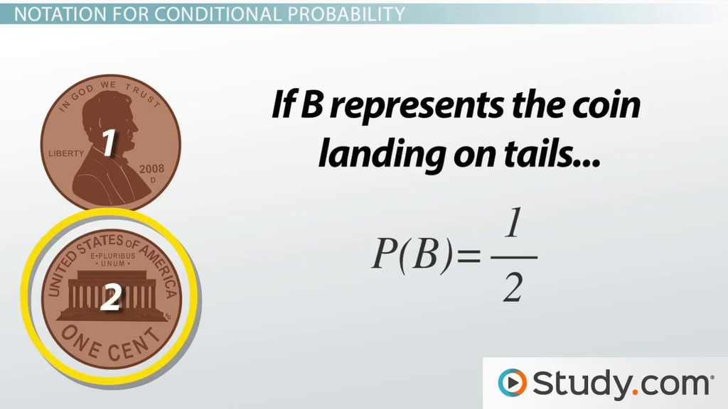 Conditional Probability Definition Uses Video Lesson