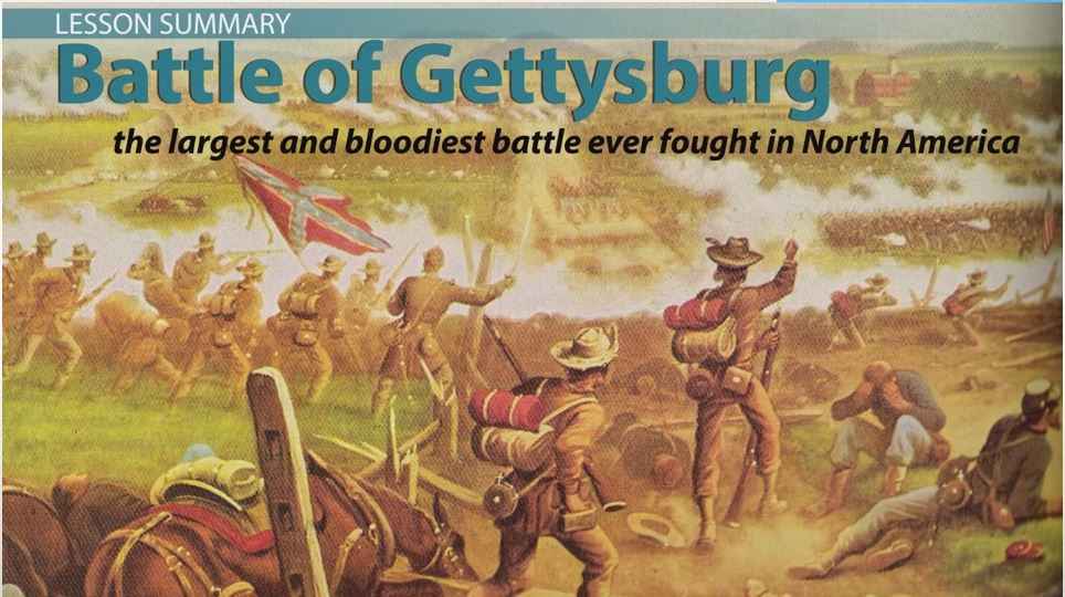 a history of the battle of gettysburg the turning point of the civil war The battle of gettysburg was the turning point of the us civil war.