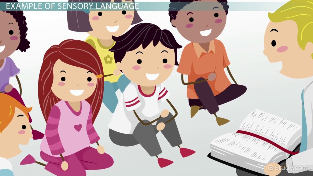 Sensory Language Definition Examples Video Lesson Transcript