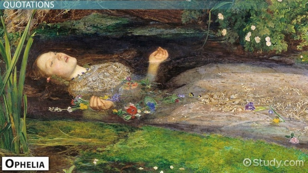 Shakespeares Ophelia Character Quotes Video Lesson