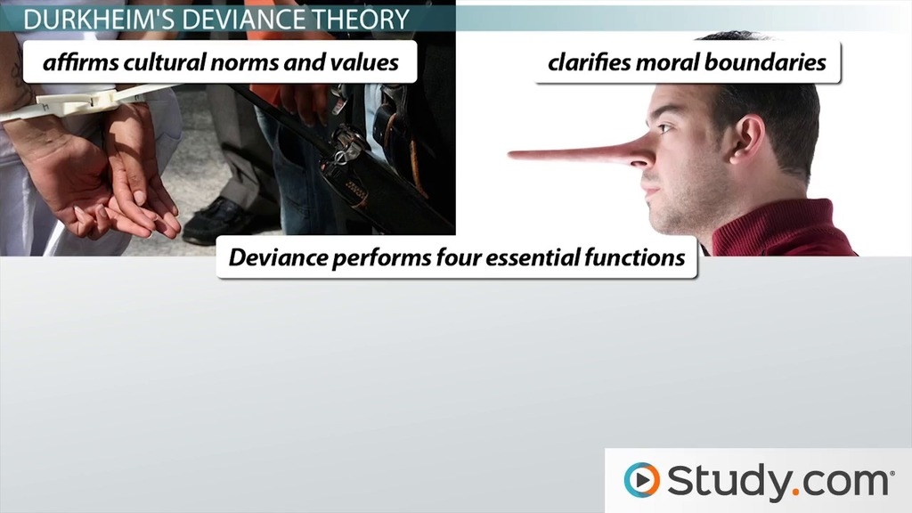 Sociological Theories Of Deviance Definitions And