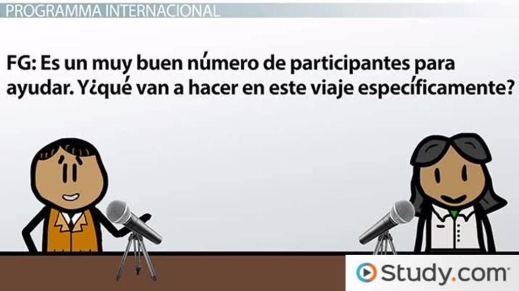 Spanish Grammar Por Vs Para Video Lesson Transcript Study