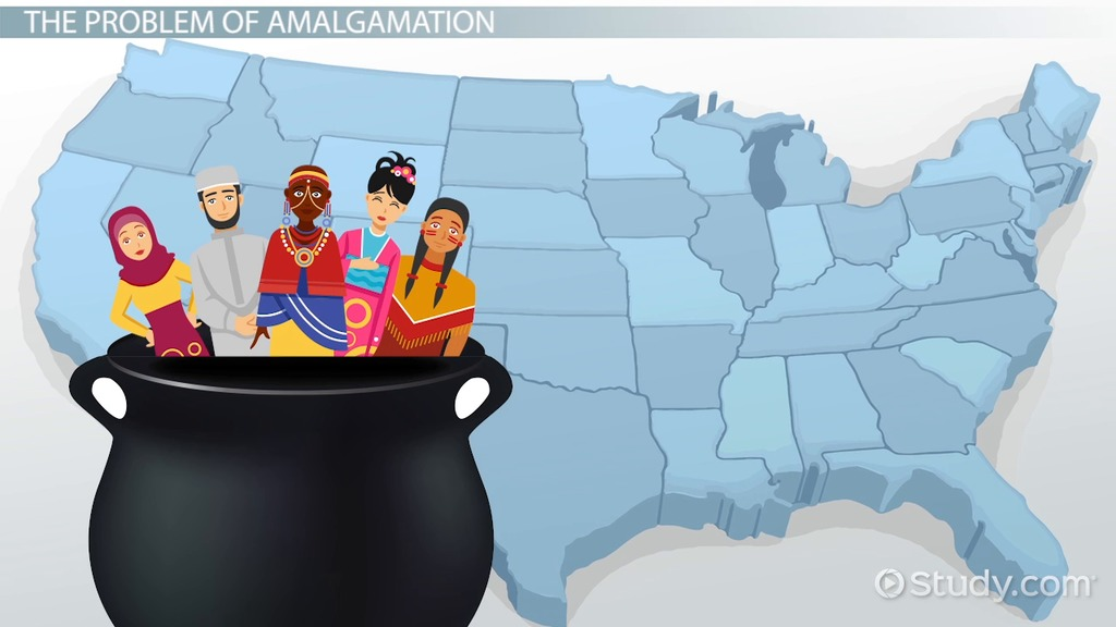 what is cultural amalgamation