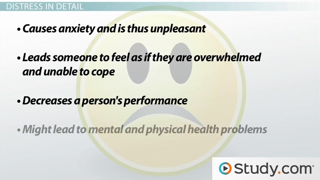 Stress: Definition and Impact on Overall Health - Video ...