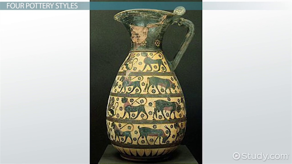 Ancient Greek Pottery Types History Facts Video Lesson