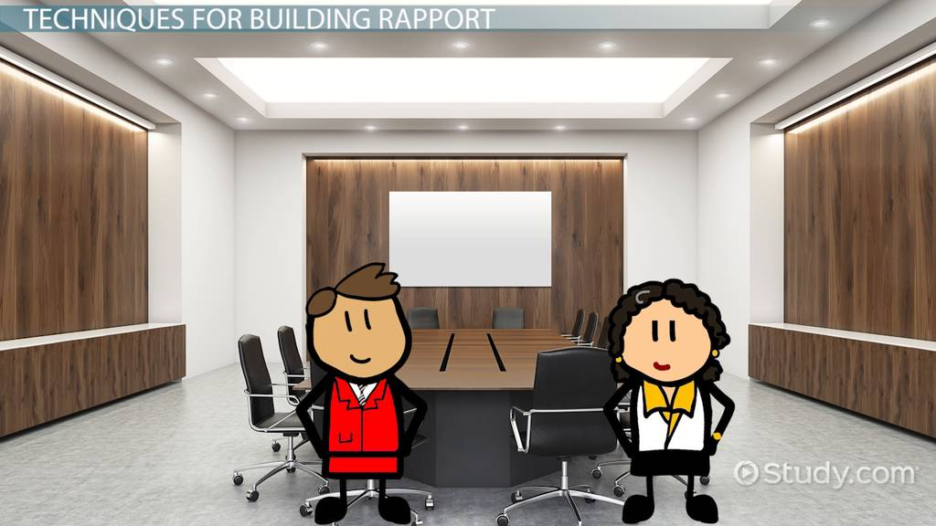 What is Rapport Building? - Definition & Importance - Video