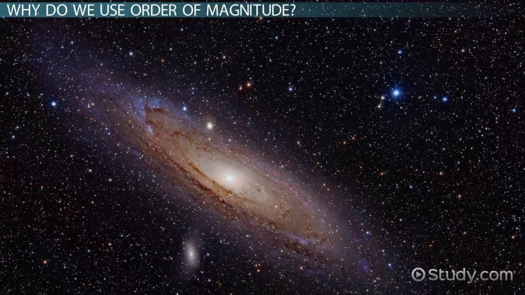 Order Of Magnitude Definition Examples Video Lesson Transcript Study Com