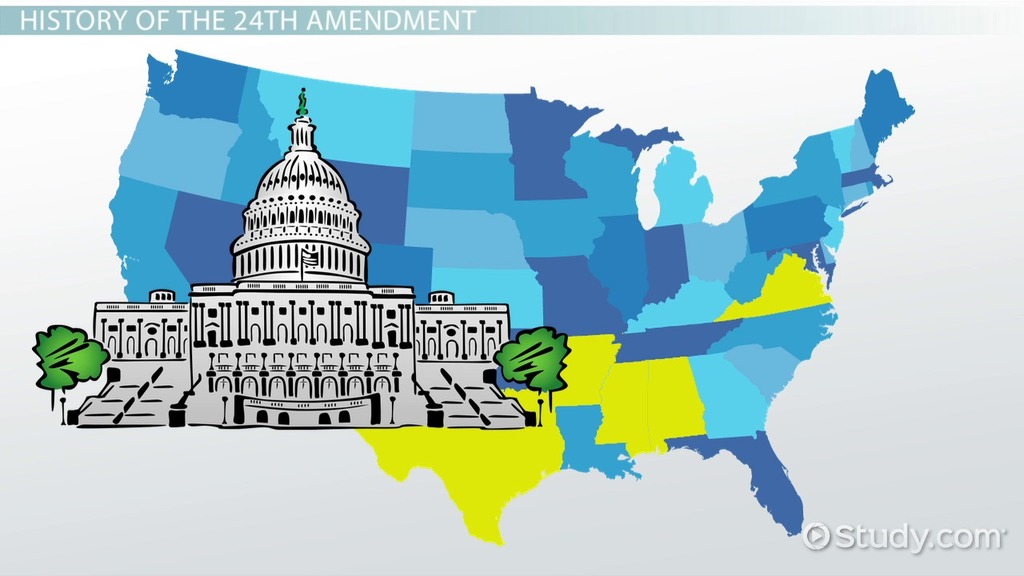 the 24th amendment definition summary history amp court
