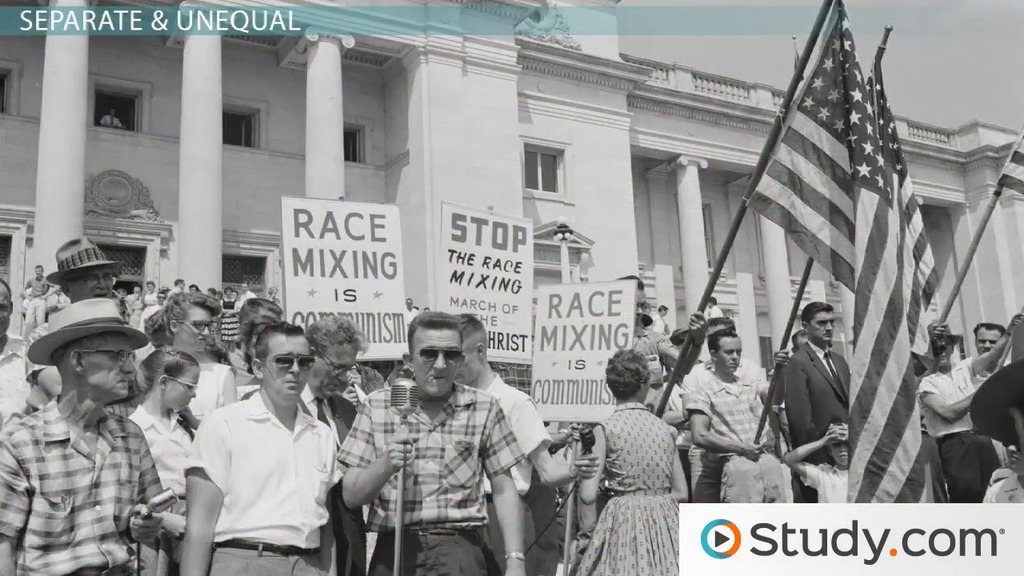 The Impact Of Jim Crow Laws On Education Video Lesson Transcript Study Com