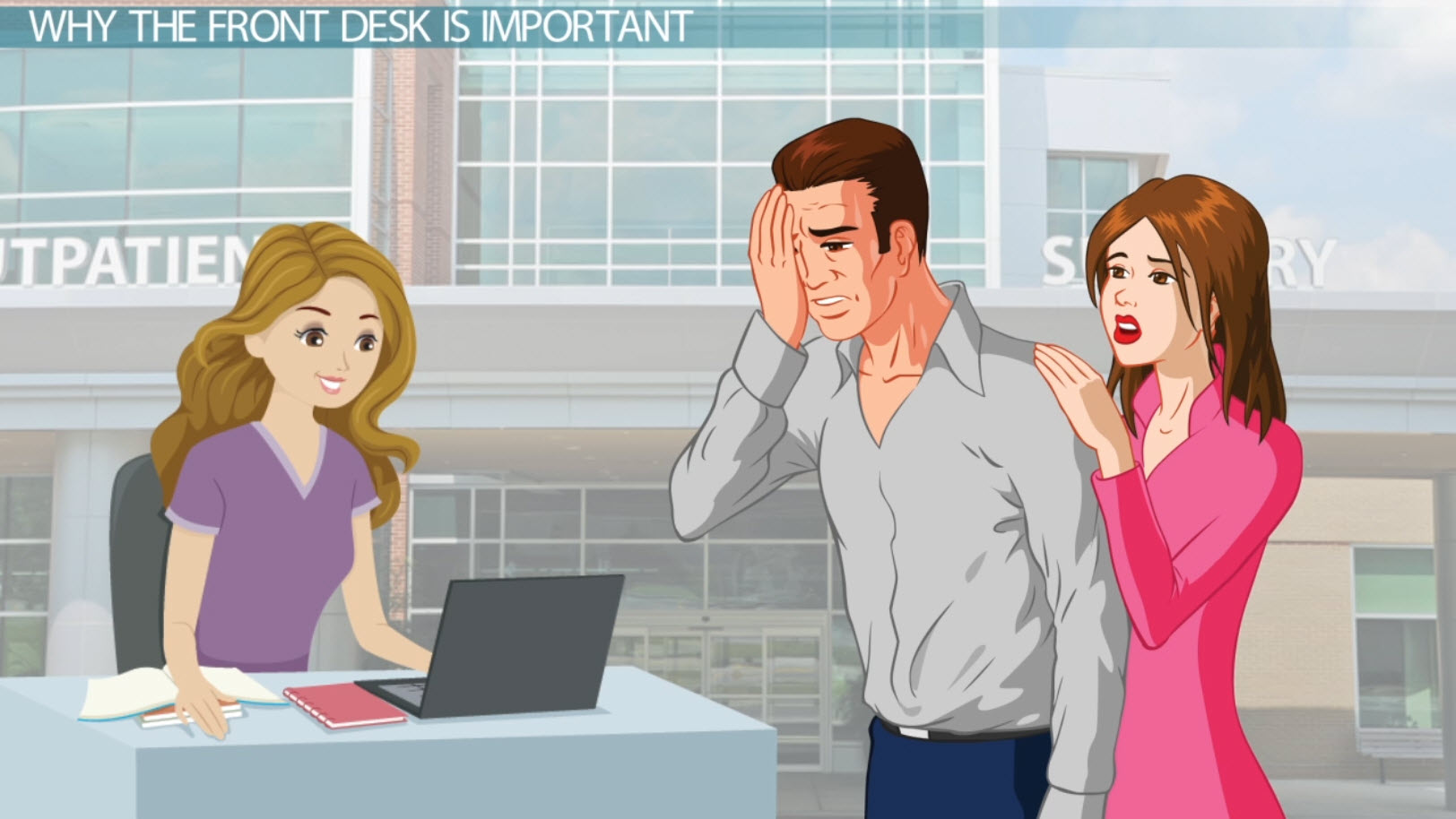 The Importance of the Front Desk in a Medical Office - Video ...