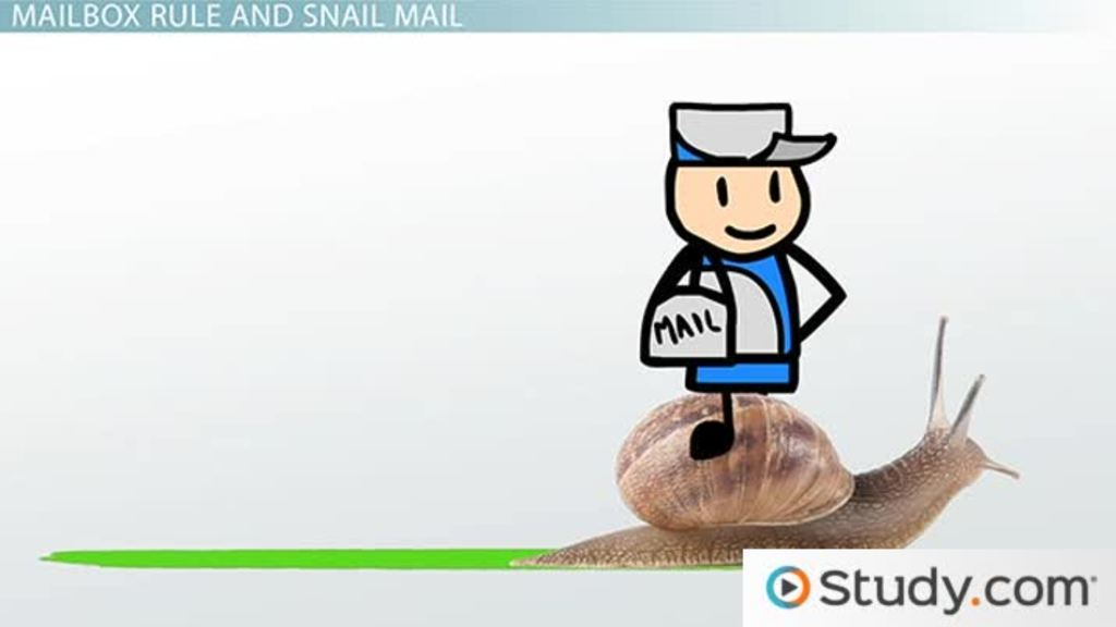The mailbox rule and contract law video lesson transcript the mailbox rule and contract law video lesson transcript study fandeluxe Choice Image