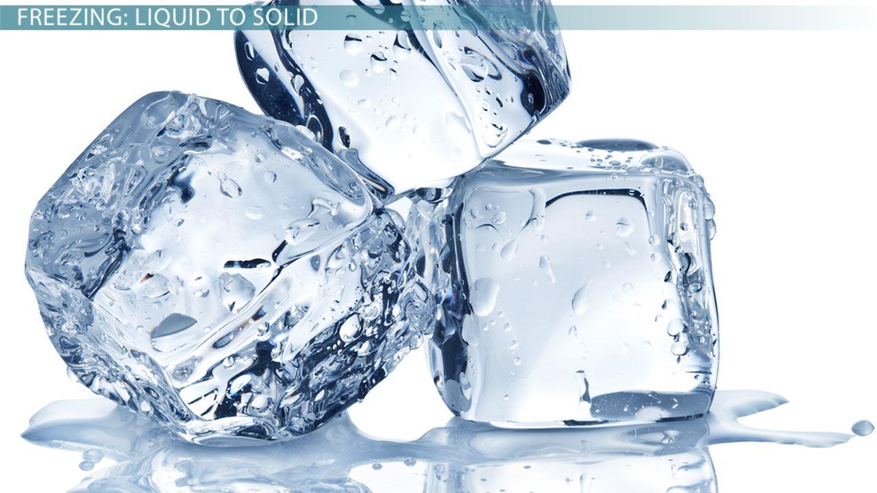 The Processes of Melting & Freezing - Video & Lesson Transcript ...