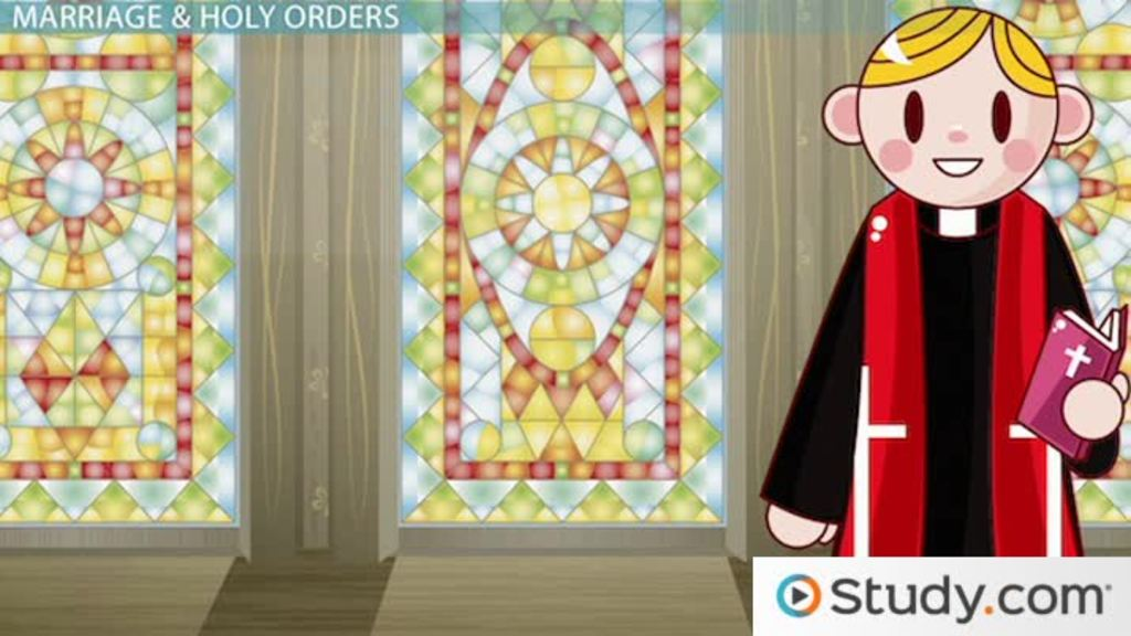 The Seven Sacraments Of The Roman Catholic Church Video Lesson