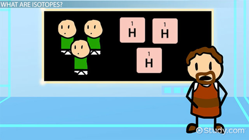 The Three Isotopes Of Hydrogen Video Lesson Transcript Study