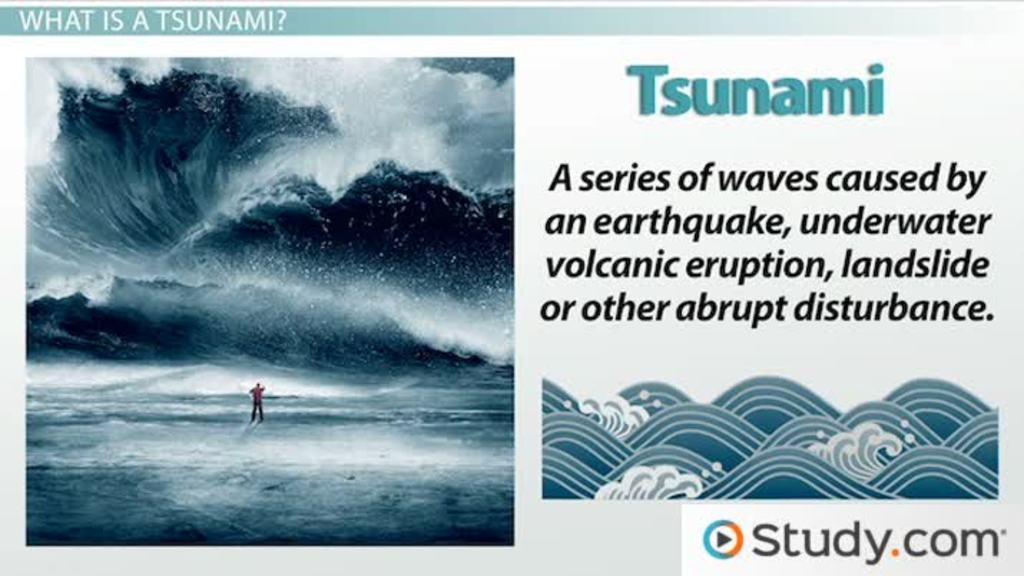 The Causes & Effects of a Tsunami - Video & Lesson Transcript ...