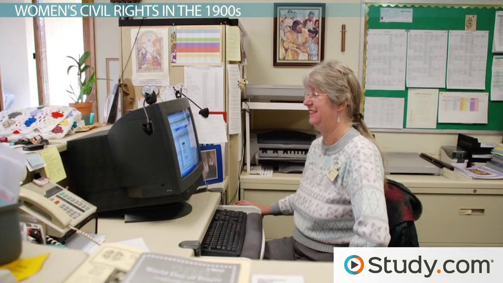 Struggle for Women's Rights and Civil Rights Linked
